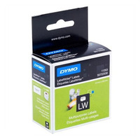 DYMO MULTI PURPOSE - 2 UP - PAPER 13mm x 25mm 1 Roll/Box 1000 Labels/Roll