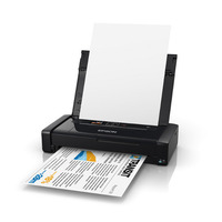 WF100 WorkForce Wireless A4 Mobile Printer - Epson WorkForce Wireless A4 Mobile Printer<br /> * Up to 7.0 ISO ppm (black) and 4.0 ISO ppm (colour)<br