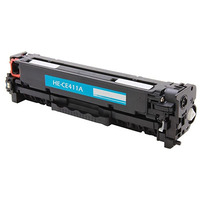 WHITE BOX REMANUFACTURED CE411A 305 TONER CARTRIDGE CYAN - WHITE BOX REMANUFACTURED CE411A 305 TONER CARTRIDGE CYAN