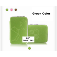 "Tablet 10' MofiZip Case Green Andriod logo. Suit any 10' tab - Tablet 10"" MofiZip Case Green Andriod logo. Suit any 10"" tab"