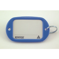 KEY TAGS KEVRON JUMBO LIGHT BLUE PK12(EACH) - KEY TAGS KEVRON JUMBO LIGHT BLUE PK12
