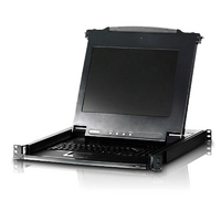 Slideaway 19' PS/2 VGA LCD Console - [ OLD SKU: CL-1000NA ] - Slideaway 19' PS/2 VGA LCD Console - [ OLD SKU: CL-1000NA ]