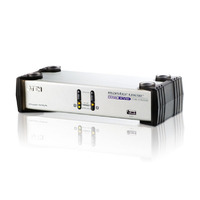 CS1742 - 2-Port USB Dual-View VGA KVM Switch with Audio & USB 2.0 Hub (KVM cables included)