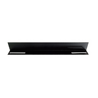 19' L Rail for 450mm Deep Cabinet only - Black - LinkBasic 19' L Rail for 450mm Deep Cabinet only - Black