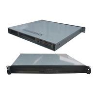 Rack Mountable Server Chassis Case 1U 400mm Depth - no PSU - Rack Mountable Server Chassis Case 1U 400mm Depth - no PSU