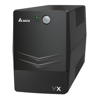 VX Line Interactive 600VA/360W Mini Tower UPS  2x C13 to AU 10A output leads  Free UPS Management So - VX Line Interactive 600VA/360W Mini Tower UPS