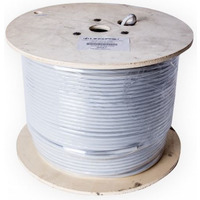 Cat 6A FTP Solid Cable Light Grey 305M - LinkBasic Cat 6A FTP Solid Cable Light Grey 305M