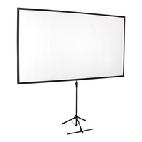 Economy 80' Tripod Projector Screen Black 16:9 - Brateck Economy 80' Tripod Projector Screen Black 16:9