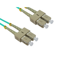 Multi Mode OM4 LSZH Duplex SC-SC Fibre Optic Patch Cord 10 Metre - LinkBasic Multi Mode OM4 LSZH Duplex SC-SC Fibre Optic Patch Cord 10 Metre