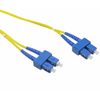 Single Mode OS1 LSZH Duplex SC-SC Fibre Optic Patch Cord 3 Metre - LinkBasic Single Mode OS1 LSZH Duplex SC-SC Fibre Optic Patch Cord 3 Metre