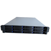 2U 12 Bay Mini-sas Hot-swap Server Chassis - TGC 2U 12 Bay Mini-sas Hot-swap Server Chassis