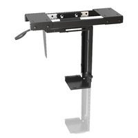 Adjustable Under-Desk CPU Mount - Brateck Adjustable Under-Desk CPU Mount