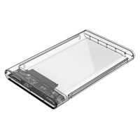 Orico Transparent 2.5' SATA HDD Enclosure - USB 3.0