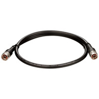 ANT70-CB1RN - 1m Antenna Extension Cable  RP-N (Male) - N (Male)  black