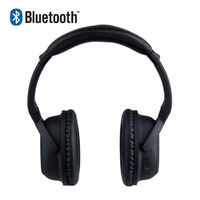 Laser Noise Cancelling Bluetooth Headset - Black