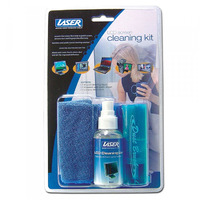 LCD CLEANING 60ML  KIT INCLUDING BRUSH & CLOTH FOR LCD MONITOR & TV