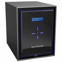 Netgear RN42600-100AJS 6 Bay NAS - Quad Core 2.1GHz  4GB RAM
