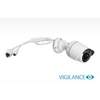 Vigilance Full HD 3MP Day & Night Outdoor Mini Bullet PoE Network Camera (optional power supply avai - Vigilance Full HD 3MP Day & Night Outdoor Mini