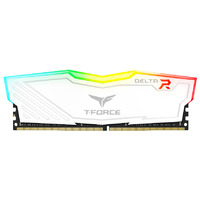 Team T-Force Delta RGB 16GB DDR4 - White - 2x8GB DIMM 2666MHz CL15 1.2V