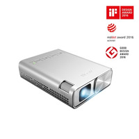 ZenBeam E1 Pocket LED Projector  150 Lumens  Built-in 6000mAh Battery  Up to 5-hour Projection  Powe - ASUS ZenBeam E1 Pocket LED Projector  150 Lumen