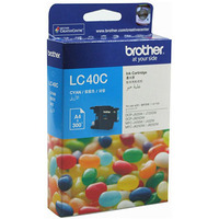 BROTHER LC-40C INKJET CARTRIDGE CYAN - BROTHER LC-40C INKJET CARTRIDGE CYAN