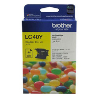 BROTHER LC-40Y INKJET CARTRIDGE YELLOW - BROTHER LC-40Y INKJET CARTRIDGE YELLOW