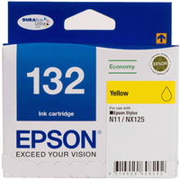 132 - 132  Economy DURABrite Ultra  Yellow Ink Cartridge