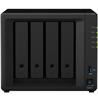 Synology DS418 4 Bay NAS - Quad Core 1.4GHz  2GB