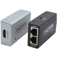 HDMI Extender Via RJ45  HDCP  Up to 1080p  - Cabac HDMI Extender Via RJ45  HDCP  Up to 1080p