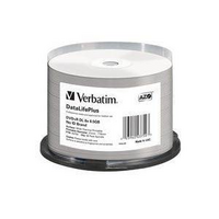 Verbatim DVD+R DL 8.5GB 50Pk - Printable