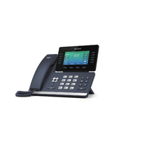 SIP-T54S - 10.922 cm (4.3 ') color LCD  480 x 272  Ethernet x 2  RJ-9 x2  Bluetooth 2.1  USB 2.0
