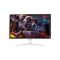 LG UD69-W 27' IPS Monitor - White - 3840x2160  60Hz  Freesync