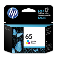 HP NO.65 TRI COLOUR INK N9K01AA 100 PAGES CYAN MAGENTA YELLOW - HP NO.65 TRI COLOUR INK N9K01AA 100 PAGES CYAN MAGENTA YELLOW