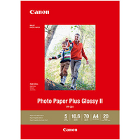 CANON PP301 A4 PHOTO PLUS GLOSSY 265GSM 20 SHEETS - CANON PP301 A4 PHOTO PLUS GLOSSY 265GSM 20 SHEETS