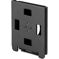 Spacepole Flush Wall Mount - Black - Spacepole Flush Wall Mount - Black