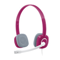 Logitech H150 3.5mm Headset - Pink