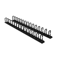 CRA30007 - Carbon Rack Cable Management  Plastic and Cold Rolled Steel  black