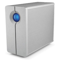 LaCie 2big Quadra 8TB External HDD - USB 3.0/Firewire