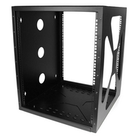 12U Sideways Wall-Mount Rack for Servers - StarTech.com 12U Sideways Wall-Mount Rack for Servers - Side-Mount Server Rack for Easy Access