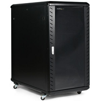 22U 36in Knock-Down Server Rack Cabinet with Casters - StarTech.com 22U 36in Knock-Down Server Rack Cabinet with Caster to store your Servers  Network