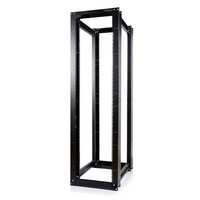 45U 3300lb High Capacity 4 Post Open Server Equipment Rack - Flat Pack - StarTech.com 45U 3300lb High Capacity 4 Post Open Server Equipment Rack - Fla