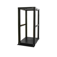 25U Adjustable Depth 4 Post Open Frame Server Rack Cabinet - StarTech.com 25U Adjustable Depth 4 Post Open Frame Server Rack Cabinet - Open Frame Equi