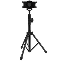 Tripod Floor Stand for Tablets - StarTech.com Tablet Floor Stand - Tripod Stand - 7in to 11in Tablets - with Carrying Bag - Height Adjustable - iPad S