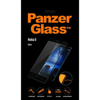 6757 - Crystal Clear  Tempered Glass  Nokia 8  Black