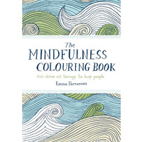 BOOK COLOURING ADULT THE MINDFULNESS COLOURING BOOK 124X177MM 112PG
