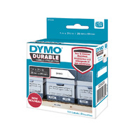 LABEL DYMO LABELWRITER DURABLE 25X89MM WHITE