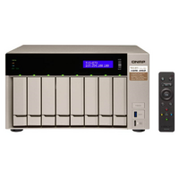 QNAP TVS-873e-4G 8 Bay NAS - Quad Core 3.4GHz  4GB