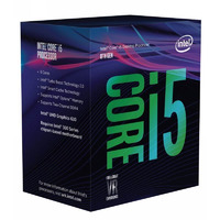 Intel Core i5-8500 LGA1151 Processor - 4.1GHz 6-Core 65W TDP