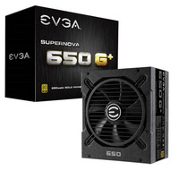 EVGA SuperNOVA 650W G1+ ATX PSU - 80+ Gold Fully Modular