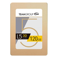 Team L5 LITE 3D 120GB 2.5' SATA3 SSD - Up to 470/300 MB/s